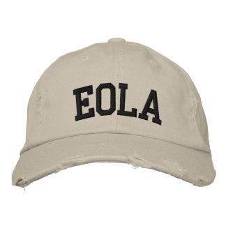 Eola bordou o chapéu