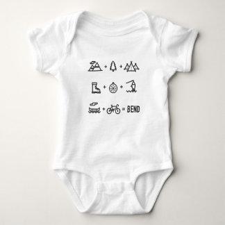 Equação das atividades de Oregon da curvatura T-shirts