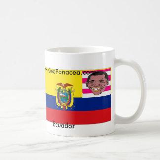 Equador/E.U. Caneca De Café