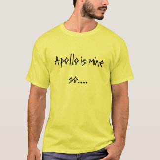equipe Apollo Camiseta