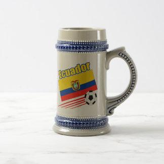 Equipe de futebol de Equador Caneca De Cerveja
