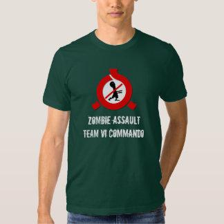 Equipe do assalto do apocalipse do zombi VI Camiseta