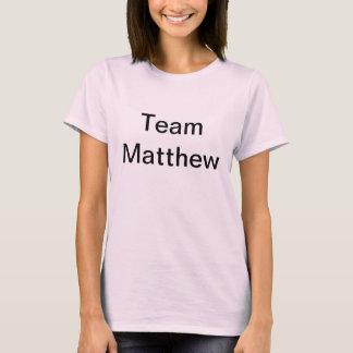 Equipe lisa Matthew do t-shirt de Jen