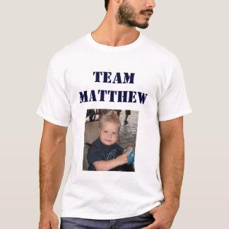 Equipe Matthew - homem adulto T-shirts