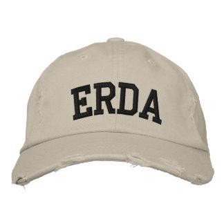 Erda bordou o chapéu boné bordado
