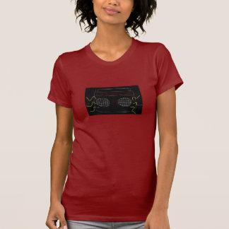 Esboço de rádio camisetas