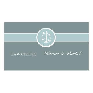 Escala legal do advogado criminoso da corte de cartão de visita