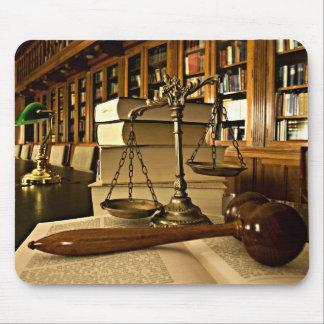 Escalas de Mousepad do advogado do advogado de