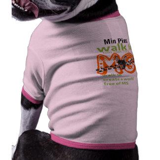 Esclerose múltipla da caminhada roupas para cães