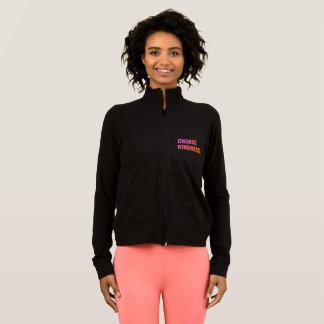 Escolha a jaqueta magro do Fecho de correr-Acima