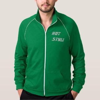 Escolha quente jaqueta estampada