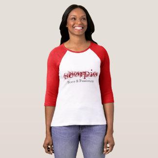 Escorpião - brava & apaixonado tshirt