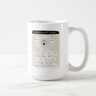 Escorpião Caneca De Café