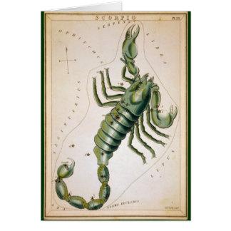 Escorpião Cartão