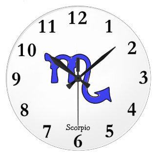 ! Escorpião t Relógio Grande
