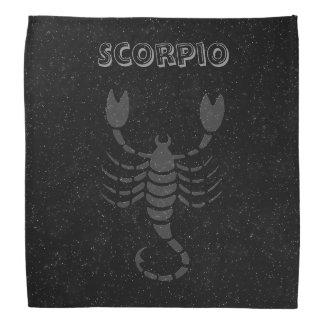 Escorpião translúcida bandana