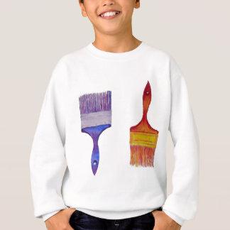 escovas de pintura tshirt