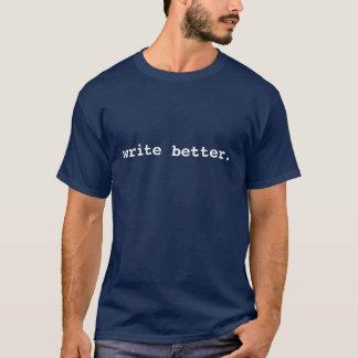 Escreva a melhor camiseta dos homens