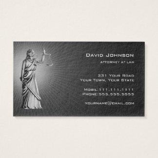 Escritório de advogados de Themis   Cartão De Visitas