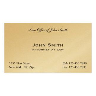 Escritório de advogados elegante profissional do cartão de visita