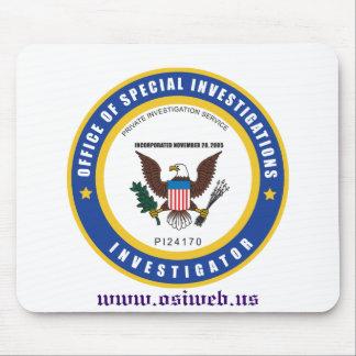 Escritório de investigações especiais Mousepad