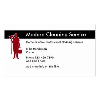 Escritório e limpeza Home Cartão De Visita