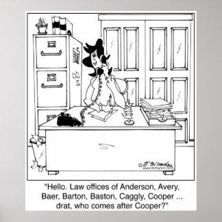 Escritórios de advogados de A a Z Pôster