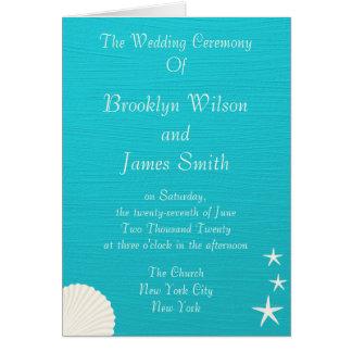 Escudos em programas da cerimónia de casamento da cartão de nota