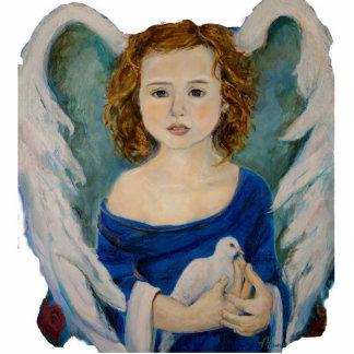 Escultura da foto do anjo da paz foto esculturas