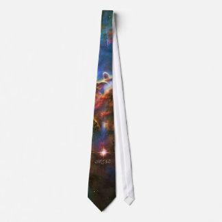 Escultura da nuvem do gás da nebulosa de Carina do Gravata