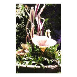 Escultura do jardim papelaria