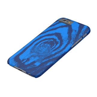 escuro e claro - azul capa barely there para iPhone 6