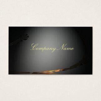 Escuro e elegante cartão de visitas