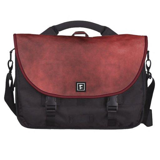 Escuro - saco vermelho do laptop mala para laptop