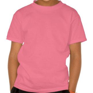 Escuro - tiro vermelho psto tshirt