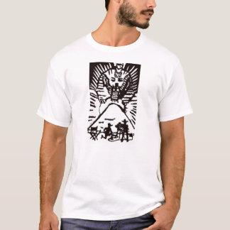 Esfinge da estrela de cinema t-shirt