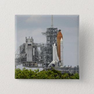 Esforço do vaivém espacial na plataforma de bóton quadrado 5.08cm