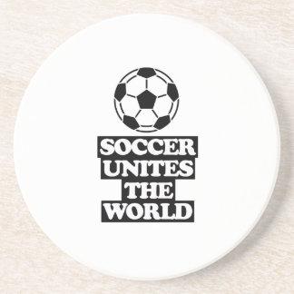 esfrie e tendendo o DESIGN do futebol Porta-copos
