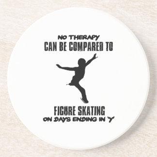 esfrie e tendendo o DESIGN do patinagem artística Porta-copos