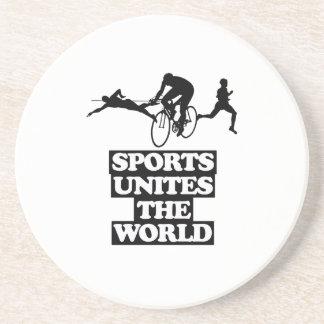 esfrie e tendendo o DESIGN dos esportes Porta-copos
