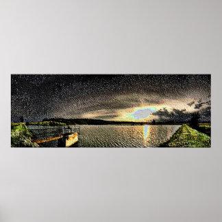 Esmalte da paisagem 10 posteres