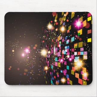 Espaço abstrato colorido mousepad