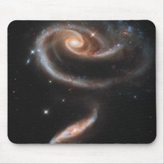 espaço bonito mouse pad