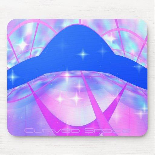 Espaço curvado mousepads
