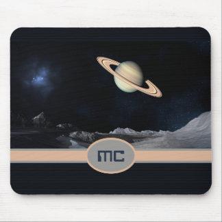 Espaço de aumentação da paisagem de Saturn da fant Mouse Pad