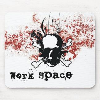 Espaço de trabalho mouse pad