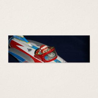 Espaço do brinquedo da lata/marca de livro navio cartão de visitas mini