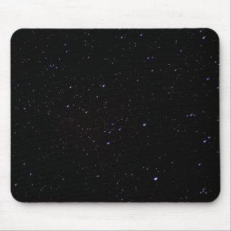 Espaço do céu nocturno mouse pad