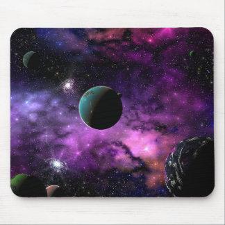 Espaço planetário mouse pad