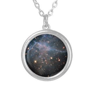 """Espaço profundo """"místico"""" da montanha de Hubble - Pingente"""